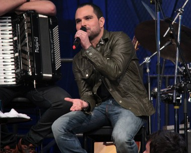 'Se não fosse o Emanuel, acho que a dupla não existiria mais' (TV Globo/Altas Horas)
