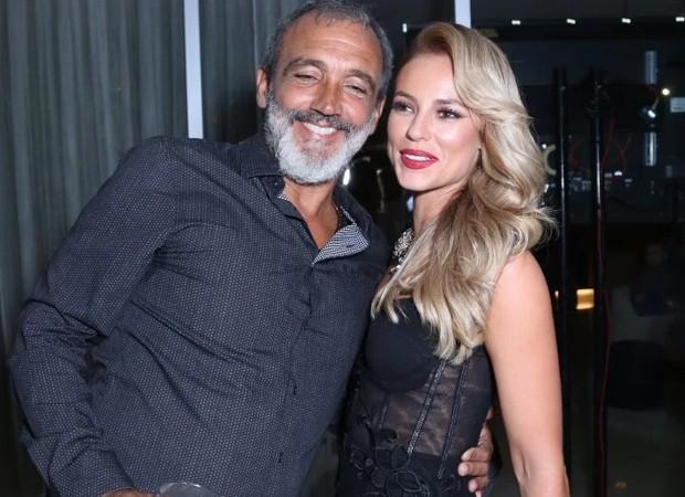 Rogério Gomes e Paolla Oliveira (Foto: AgNews)