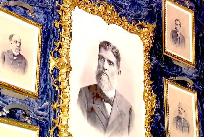 Museu Republicano é acervo da história da cidade e do país (Foto: Reprodução / TV TEM)