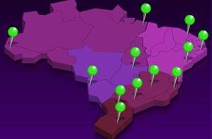 Saiba tudo sobre as cidades do 'Dança' em 2012 e em 2013 (Domingão do Faustão / TV Globo)
