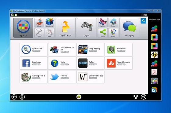 BlueStacks App Player executa aplicativos do Android no computador