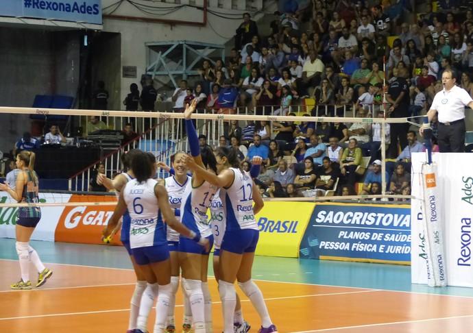 Rio de Janeiro São Caetano vôlei Superliga feminina (Foto: Gabriela Pantaleão)