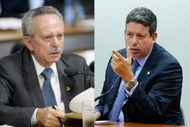 O deputado Arthur Lira (PP-AL) e o senador Benedito de Lira (PP-AL) (Foto: Montagem: Marcos Oliveira/Agência Senado e Luis Macedo/Câmara dos Deputados)