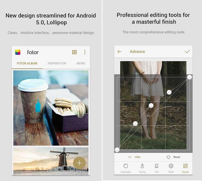Fotor for Messenger é um app de foto dedicado do Facebook Messenger (Foto: Divulgação)