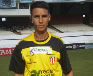 Joelson Santos será o árbitro da final (Foto: Reprodução: arquivo pessoal)