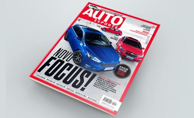 Revista Autoesporte de julho: novo Ford Focus encara Volkswagen Golf e Chevrolet Cruze (Foto: Autoesporte)