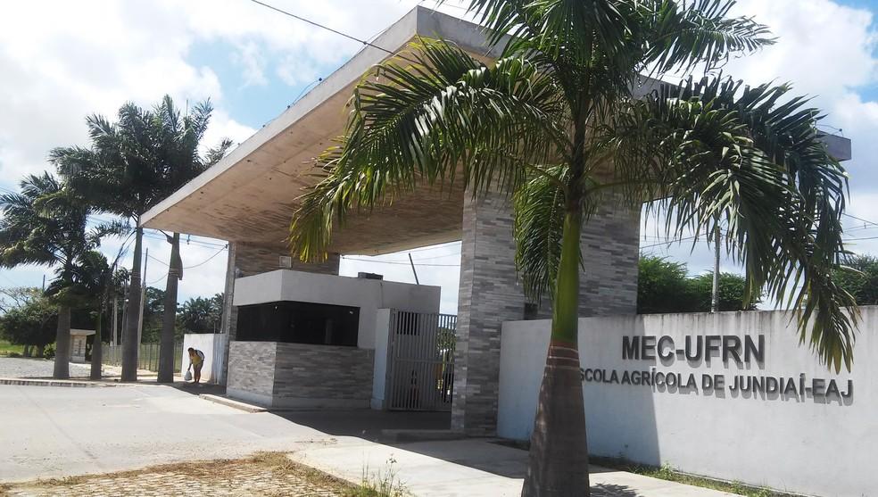 Escola Agrícola de Jundiaí fica em Macaíba, na Grande Natal (Foto: Divulgação/EAJ)
