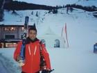 Ronaldo posta foto em estação de esqui: 'Alguns tombos'