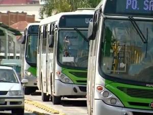 Transporte coletivo de Piracicaba (Foto: Cesar Fontenele/EPTV)