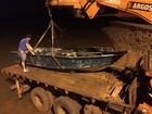 PF apreende 780 kg de maconha em embarcação no Reservatório de Itaipu