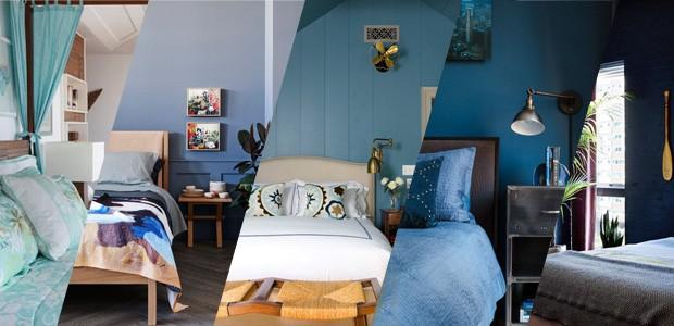 Top 20 quartos azuis (Foto: Casa Vogue)