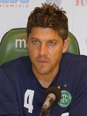André Leone, zagueiro do Guarani (Foto: Reprodução / EPTV)