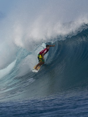 surfe Miguel Pupo no Mundial das Ilhas Fiji segunda fase (Foto: Kirstin Scholtz / ASP)