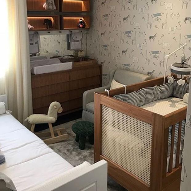 O quarto de Karim, filho de Ana Beatriz Barros (Foto: Reprodução/Instagram)