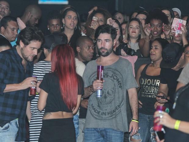 Sandro Pedroso em show em São Paulo (Foto: Amauri Nehn/ Brazil News)
