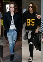 Kristen Stewart, aniversariante do dia, aposta no estilo rebelde e andrógino