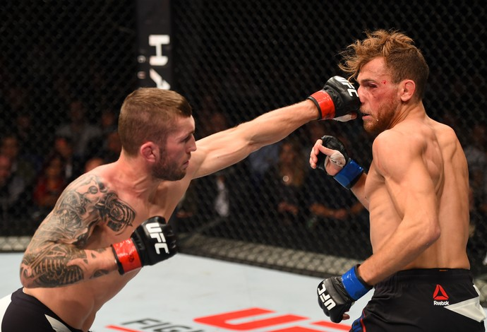 Stevie Ray Mickael Lebout UFC Dublin 2 (Foto: Getty Images)