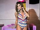 Cacau Colucci posa sensual e fala sobre Luan Santana: 'Maior carinho'