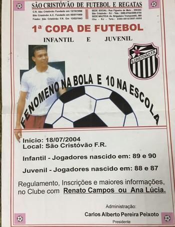 Ronaldo São Cristóvão (Foto: Divulgação / Arquivo pessoal)