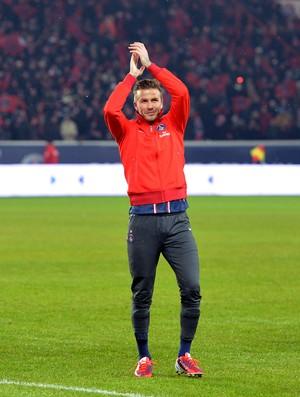 Beckham, PSG x Olympique de Marselha (Foto: AFP)