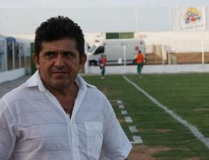 Netinho Matias fez sua estreia como técnico do Assu (Foto: Augusto Gomes)