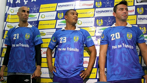 Gilberto, Leandro, Agenor (Foto: Adeilson Albuquerque)