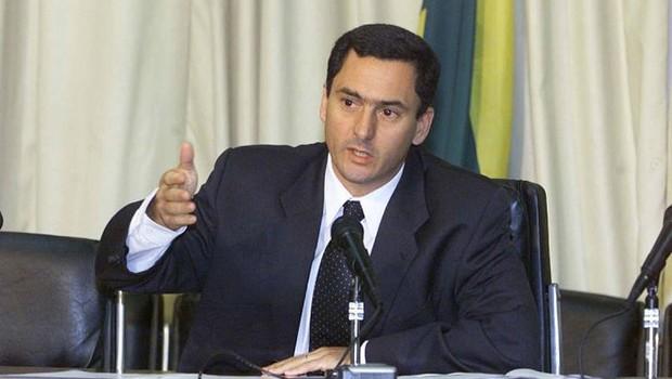 Eduardo Guardia, do Ministério da Fazenda (Foto: Givaldo Barbosa/Agência O Globo)