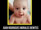 Delegado diz que bebê Juan morreu em tentativa de assalto no RJ
