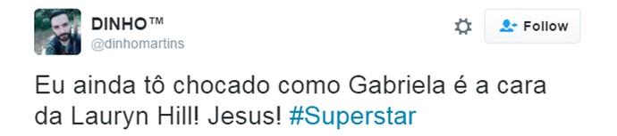alphazimu superstar tweet (Foto: Reprodução/Internet)