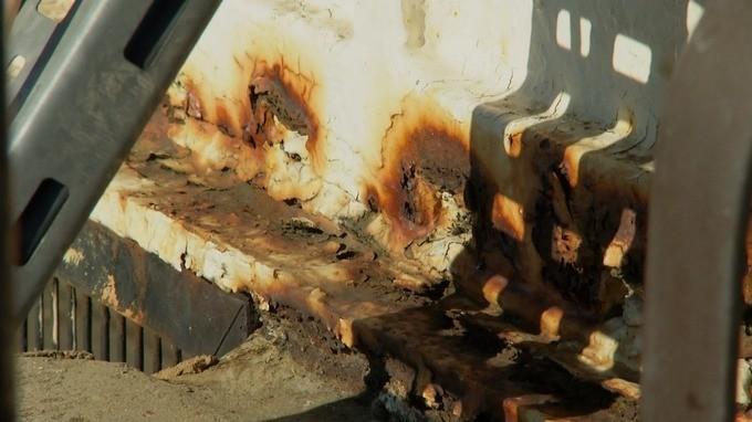 A caldeira do Palácio de Buckingham apresenta sérios problemas e precisará ser renovada (Foto: Reprodução/ITV News)