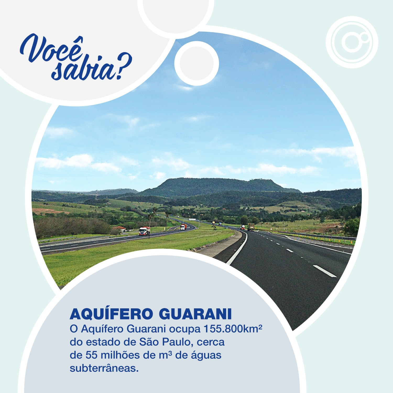 O Aquífero Guarani está localizado no interior paulista (Foto: Reprodução/TV TEM)
