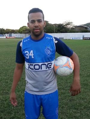 Weltinho, atacante do Vitória-ES (Foto: Richard Pinheiro/GloboEsporte.com)