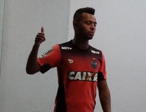 Rafael Carioca, volante do Atlético-MG (Foto: Rafael Araújo)