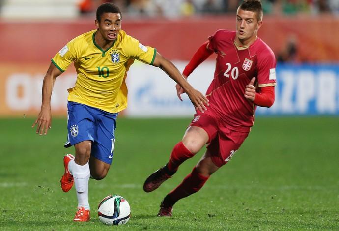 Brasil x Sérvia Mundial sub-20 Gabriel Jesus - AP (Foto: AP)