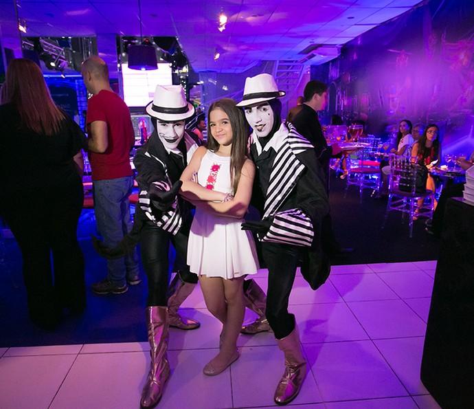 Mel Maia o fez questão de cuidar de detalhes da sua festa de 12 anos (Foto: Diogo Dubem)