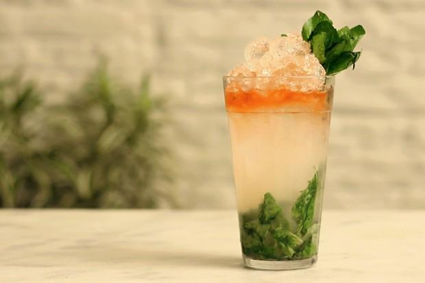 Conheça o Swezzle, um drink com cara de mojito
