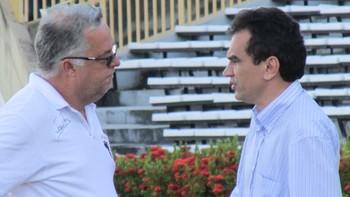 Josué Teixeira e Elizeu Aguiar (Foto: Emanuele Madeira/GLOBOESPORTE.COM)
