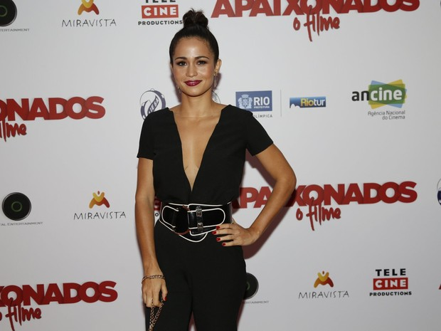 Nanda Costa em pré-estreia de filme na Zona Sul do Rio (Foto: Ag. News)