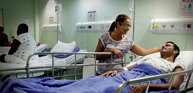 Hospital do Subúrbio, em Salvador (BA) (Foto: Márcio Lima/ÉPOCA)
