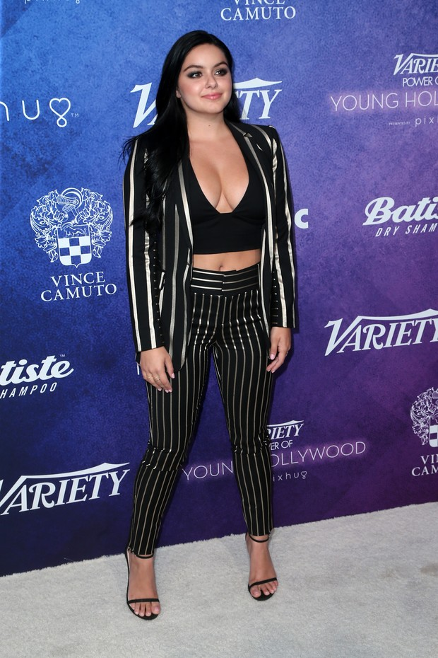 Ariel Winter em evento em Los Angeles, nos Estados Unidos (Foto: Frederick M. Brown/ Getty Images/ AFP)