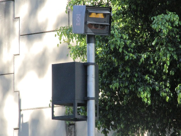 Radar em São José dos Campos (Foto: Carlos Santos/G1)