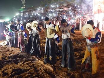 Final rodeio Expoacre (Foto: Duaine Rodrigues)