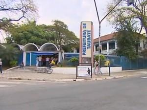 Prefeitura de Taubaté  (Foto: Reprodução/TV Vanguarda)