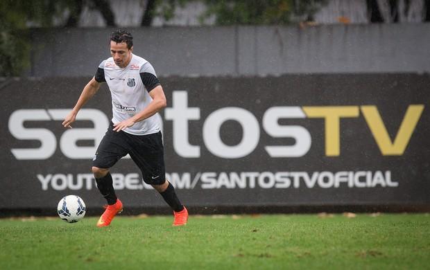 Leandro Damião atacante Santos treino