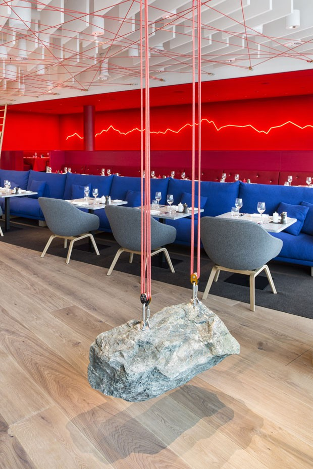 Restaurante Saltz, em Zurique (Foto: Nico Schaerer)