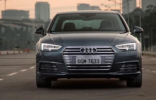 Dianteira do Audi A4 (Foto: Fabio Aro / Autoesporte)