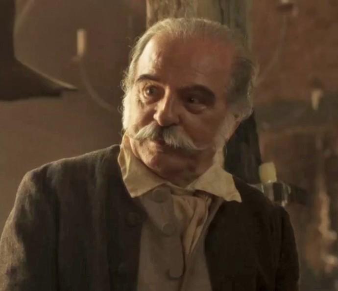 Genézio de Barros será Diogo Farto, pai de Branca e marido de Luzia (Foto: TV Globo)