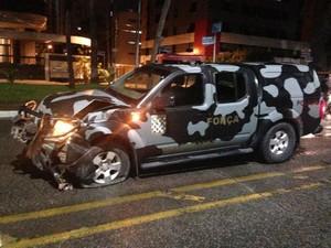 Juiz assume responsabilidade no acidente e diz que vai pagar prejuízo. (Foto: Arquivo pessoal)