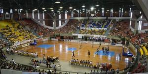 Veja imagens da final do basquete (Vitor Geron / Globoesporte.com)