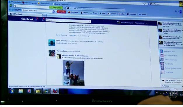 Internet e redes sociais interferem na vida amorosa dos jovens (Foto: Reprodução EPTV)
